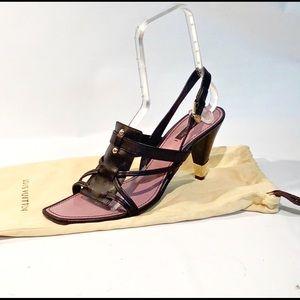 Louis Vuitton heeled sandals